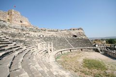 Amphitheatre in Milet, Turkey Royalty Free Stock Photo