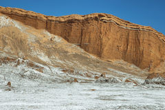 Amphitheatre in Moon Valley, Atacama Desert, Chile Royalty Free Stock Image