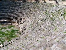 Amphitheatre Myra, Turkije Royalty-vrije Stock Afbeeldingen