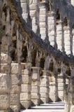 Amphitheatre nel Croatia, PULA Immagine Stock Libera da Diritti