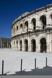 Amphitheatre in Nimes. From Roman times Royalty Free Stock Photography