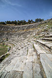 Amphitheatre of Nysa Ancient City in Aydin, Turkey Stock Photos