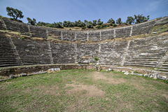 Amphitheatre of Nysa Ancient City in Aydin, Turkey Stock Images