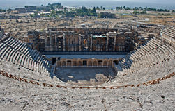 Amphitheatre in Pamukkale, Turkey Stock Photos