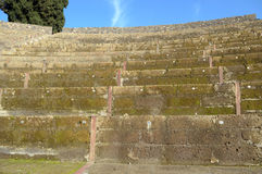 Amphitheatre of Pompeii, the Roman city Stock Photo