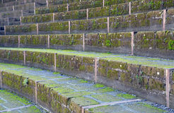 Amphitheatre of Pompeii, the Roman city Stock Images