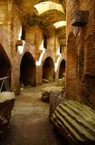 Amphitheatre of pozzuoli Stock Photography