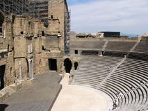 Amphitheatre in Provence Royalty Free Stock Images
