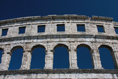 Amphitheatre of Pula Royalty Free Stock Image