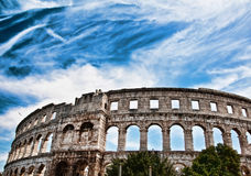 Amphitheatre in Pula,Croatia Stock Images