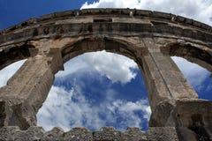 Amphitheatre Pulla Royalty Free Stock Photography