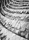 Amphitheatre-Reihen. Pula, Kroatien Lizenzfreie Stockbilder