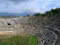Amphitheatre romain Image stock