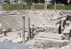 Amphitheatre romano immagini stock