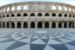 Amphitheatre romano Foto de archivo