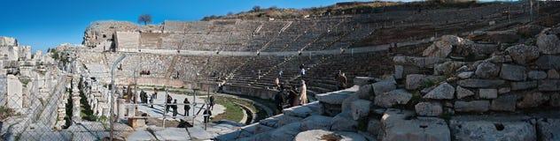 Amphitheatre romano antico Fotografia Stock