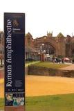 Amphitheatre romano de Chester Fotos de archivo