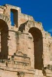 Amphitheatre romano do EL Djem fotos de stock