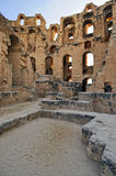 Amphitheatre romano do EL Jem foto de stock royalty free