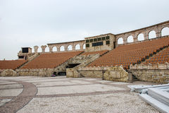 Amphitheatre romano, el muelle del pescador de Macao, China. Imagenes de archivo