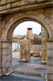 Amphitheatre romano no cais do pescador foto de stock
