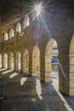 Amphitheatre romano no cais do pescador, Macao fotos de stock