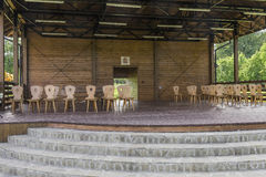Amphitheatre in Roznow royalty free stock images