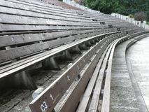 Amphitheatre, rozrywka, park popielaty, stary, obraz stock