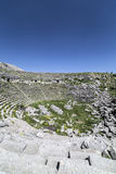 Amphitheatre of Sagalassos in Isparta, Turkey Royalty Free Stock Photos