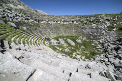 Amphitheatre of Sagalassos in Isparta, Turkey Stock Image