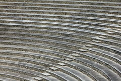 Amphitheatre-Schritte Lizenzfreie Stockbilder