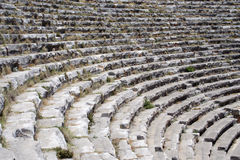 Amphitheatre seats Stock Photography