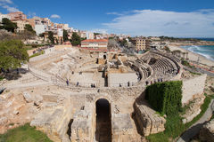 Amphitheatre of Tarragona Royalty Free Stock Images