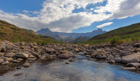 Amphitheatre and Tugela River Royalty Free Stock Photo