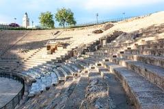 Amphitheatre Tunesië Royalty-vrije Stock Afbeeldingen