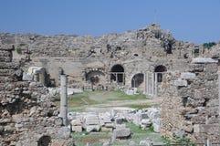 Amphitheatre in Turkey Stock Photo