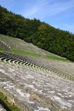 Amphitheatre under sky Stock Images
