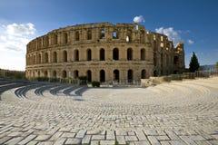 Amphitheatre von EL Jem lizenzfreie stockbilder