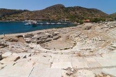 Amphitheatre von Knidos Lizenzfreies Stockbild