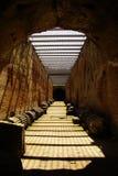 Amphitheatre von pozzuoli Stockbild
