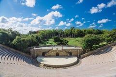 Amphitheatre w Alcie De Chavon, zdjęcie stock