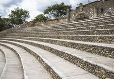Amphitheatre w Alcie De Chavon, Casa De Campo Zdjęcie Royalty Free