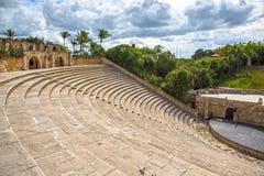 Amphitheatre w Alcie De Chavon, Casa De Campo Zdjęcie Stock