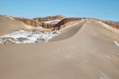 Amphitheatre w księżyc dolinie, Atacama pustynia, Chile Zdjęcie Stock