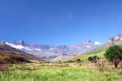 Amphitheatre, Zuid-Afrika Stock Foto