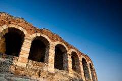 Amphitheatrearena in Verona, Italië Stock Afbeelding