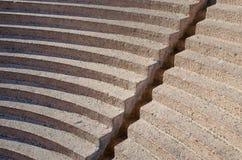 Amphitheatresitze Stockfoto