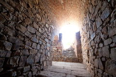 Amphithéâtre de Mérida Photographie stock libre de droits