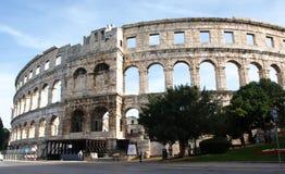 Amphithéâtre de Pula Image stock