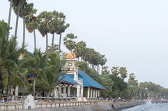 Amphoe Sattahip street view in  thailand. Stock Images